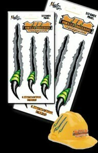 Dinosaur Claws Removable Illusion Stickers