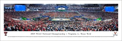 UVA 2019 NCAA National Championship TipOff Panoramic Print