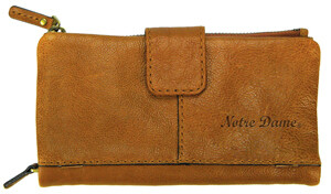 ND Leather Snap Clutch Wallet