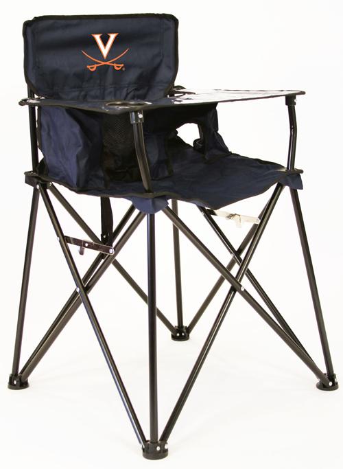 Virginia Cavalier High Chair with Carry Bag