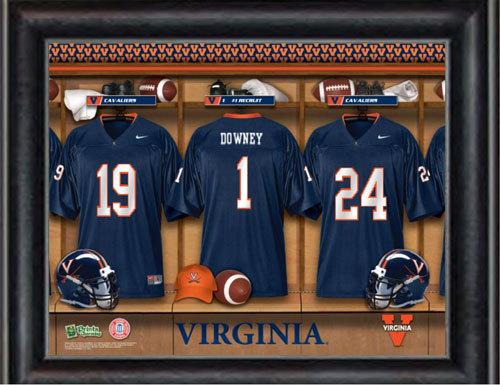 Customized Virginia Locker Room Jersey Print