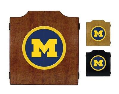 Michigan Dart Board Cabinet