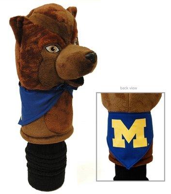 Michigan Wolverine Mascot Golf Head Cover