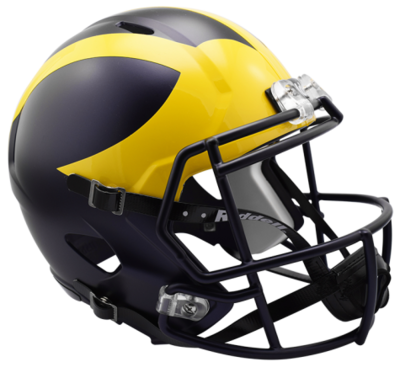 Michigan Speed Replica Helmet by Riddell