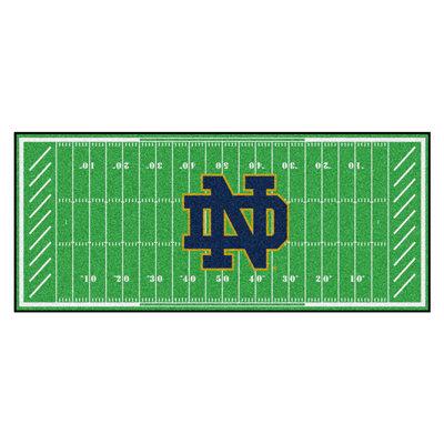 Notre Dame Football Runner Mat/Rug