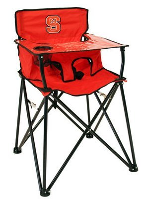 NC State Wolfpack High Chair with Carry Bag
