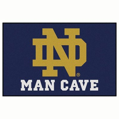 Notre Dame Man Cave Rug/Mat: 4 Sizes Available!