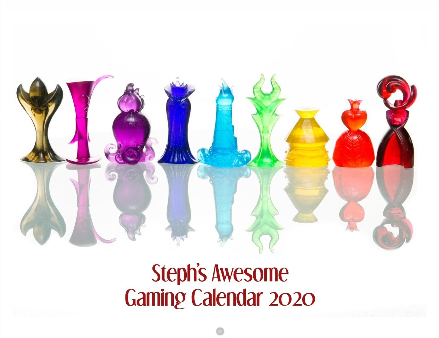 Steph's Awesome Gaming Calendar 2020!