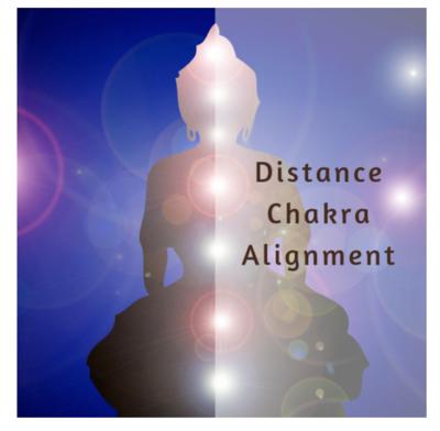 Distance Chakra Alignment