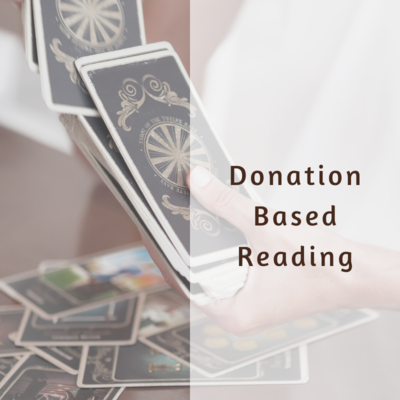 Donation Based Tarot Reading