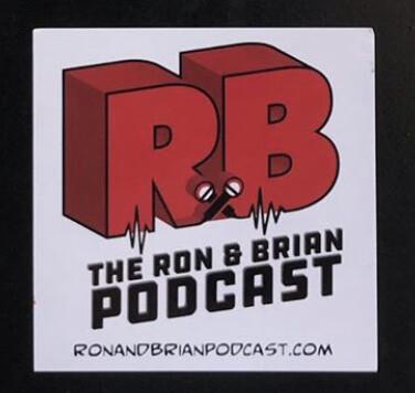 Ron & Brian Sticker