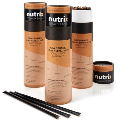 Shilajit Resin Mixed with Raw Organic Mountain Honey - Nutrix + Free 5g Pure Shilajit Resin (42 Servings)