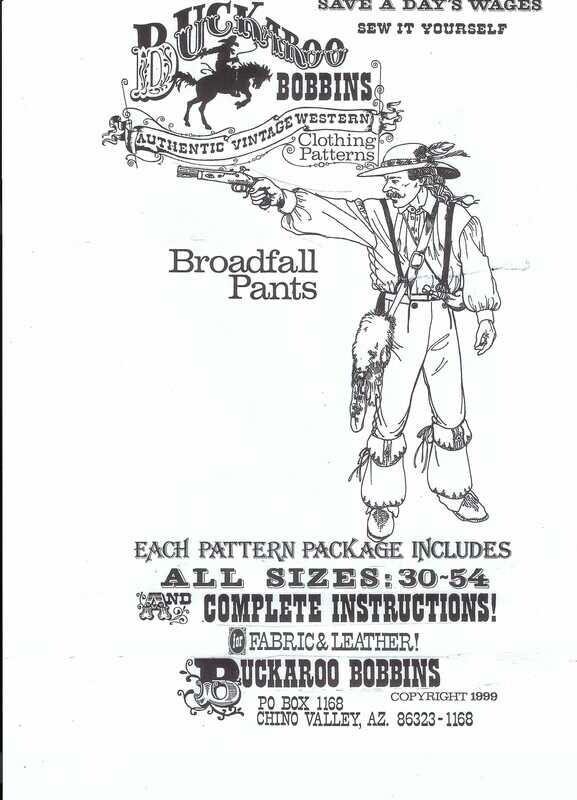 Broadfall Pants