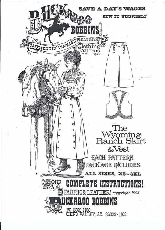 Wyoming Ranch Skirt