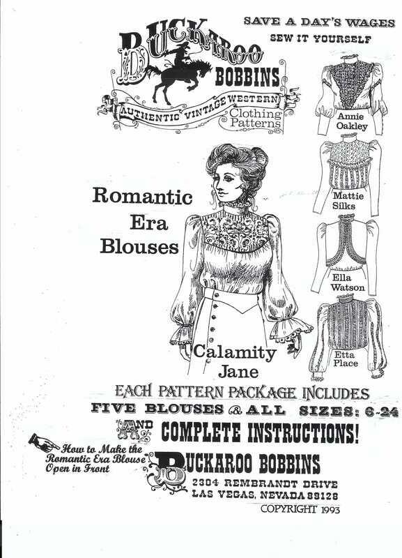 Romantic Era Blouse