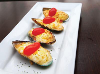Mussel Motoyaki
