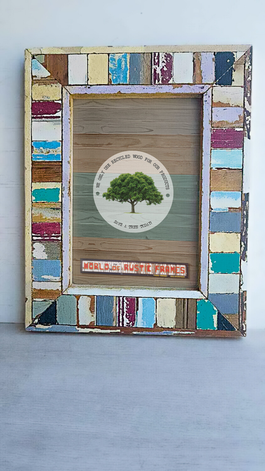 A4 Madiba picture frame - 21 cm x 30 cm (8 × 12 inches)