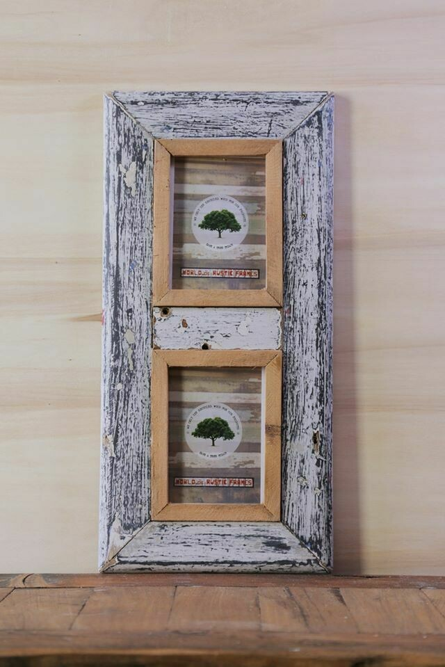 A6 Rustic Frame set of 2, 10 cm x 15 cm (photo size)