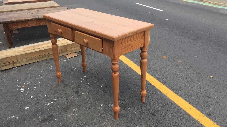 Natural wood Vanity desk