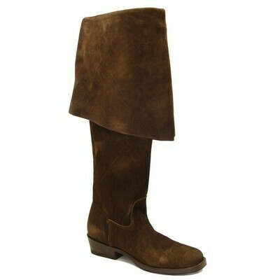 PIRATES II JACK SPARROW CHOCOLATE PIRATE BOOTS (A3)