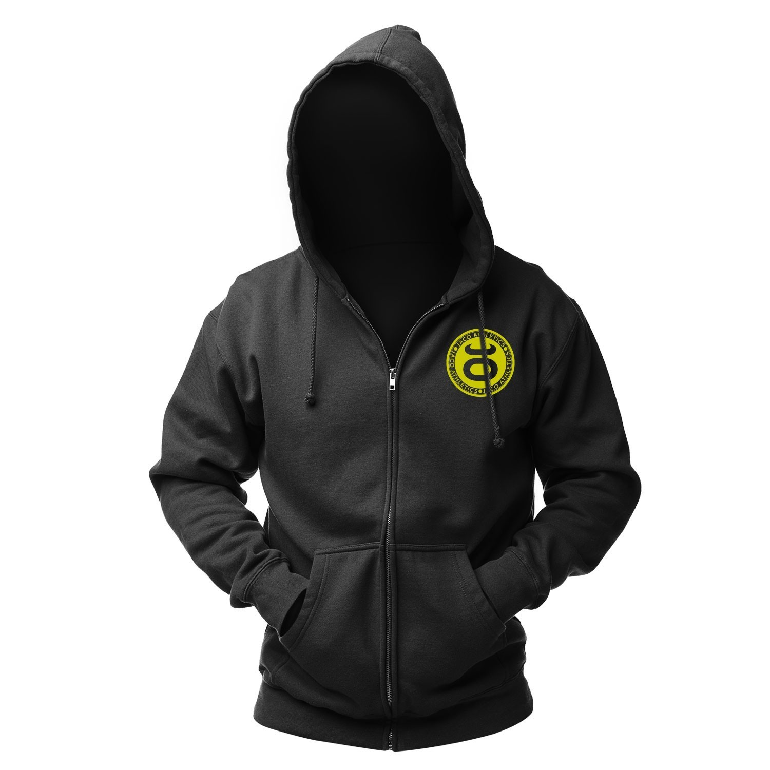 JACO Athletics Team Hoodie (Black/SugaFly Yellow)