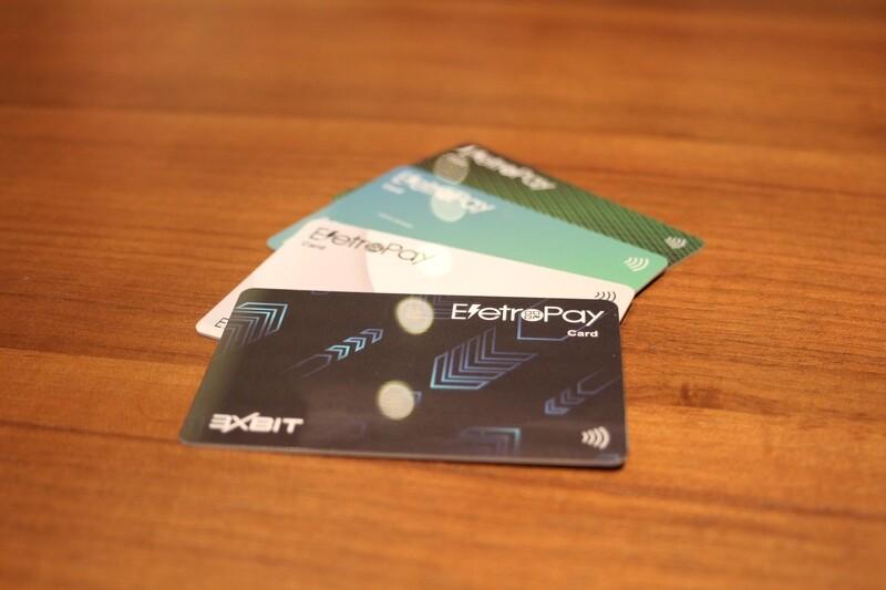 Card EletroPay 100 units - Free shipping