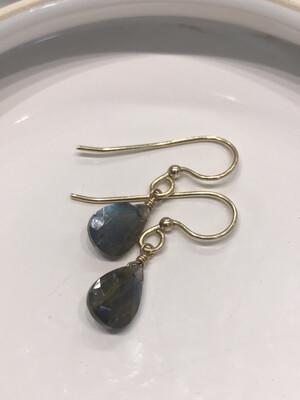 Luscious Labradorite Earrings