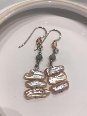 Enthralling Pearl Earrings
