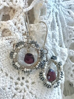 Magnificent Crown Earrings