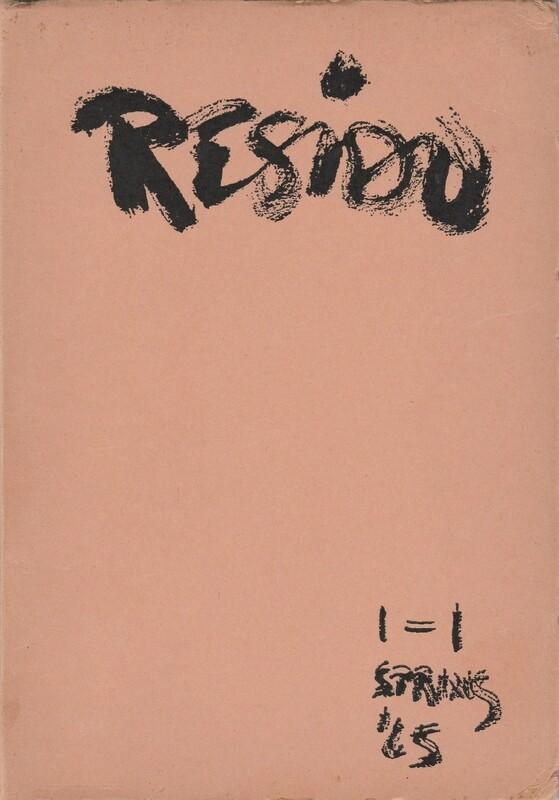RESIDU VOLUME 1 (EBOOK)