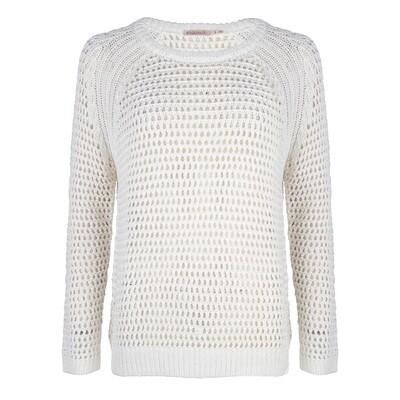 209 Esqualo Sweater Off White