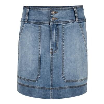 209 Esqualo Skirt Jean Blue
