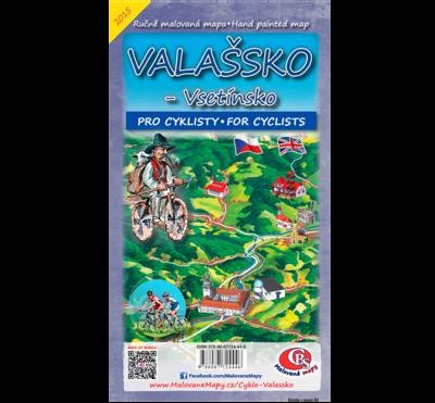 Valašsko-Vsetínsko - cyklomapa