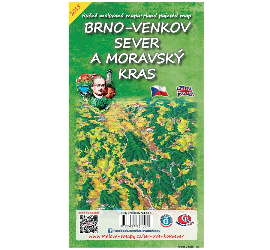 Brno-venkov sever a Moravský kras