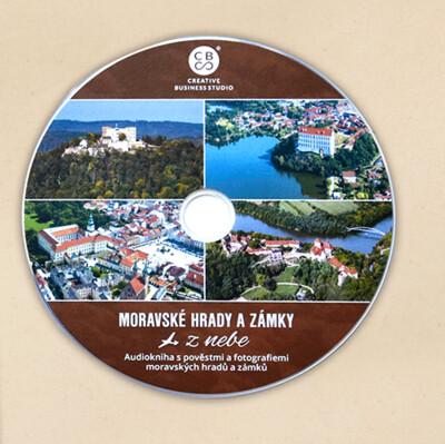 Audiokniha Moravské hrady a zámky z nebe na DVD