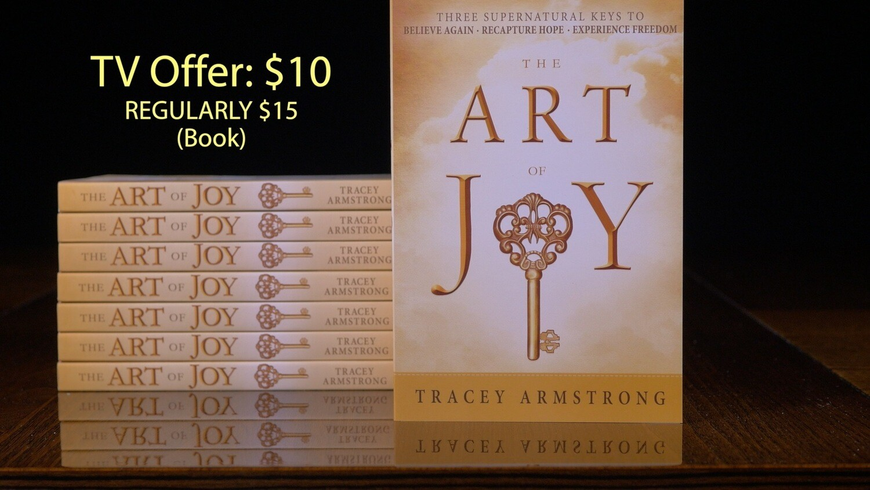 Art of Joy book special TV offer