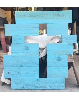 Rustic Wooden Cross Wall Decor
