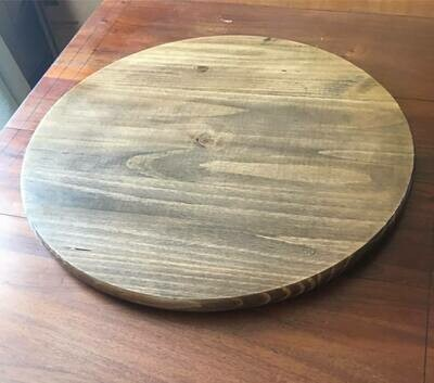 Large Wooden Lazy Susan