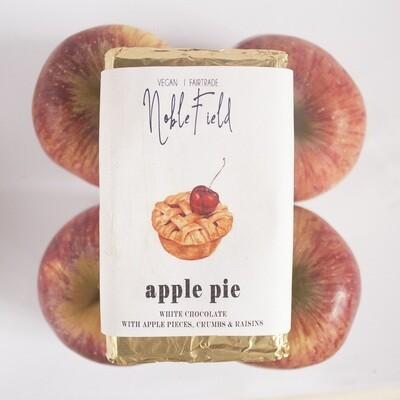 Apple Pie - White Chocolate with Apples, crumbs & raisins