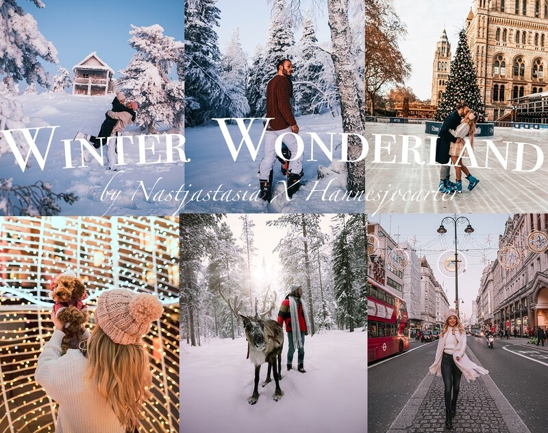 Winter Wonderland - Mobile & Desktop