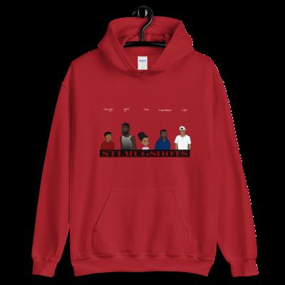 NEW! STL Mugshots Hoodie - Cardinal Red