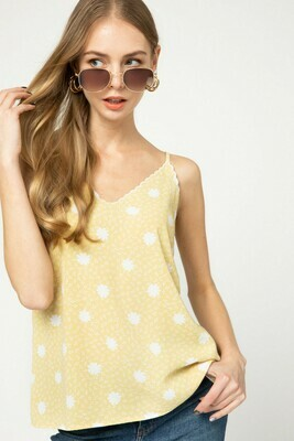 Yellow Floral Cami