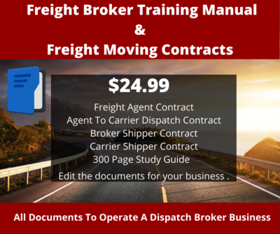 Freight Broker Training Manual-Contracts