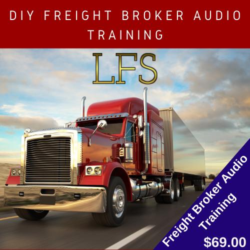 DIY Freight Broker Audio Training Access