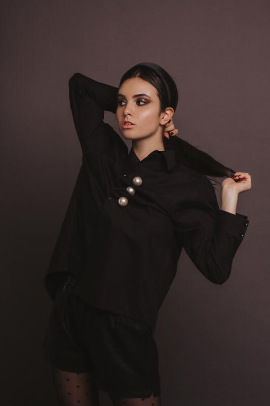 Рубашка Vanessa Black