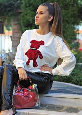 Блуза / Sweatshirt - Red bear