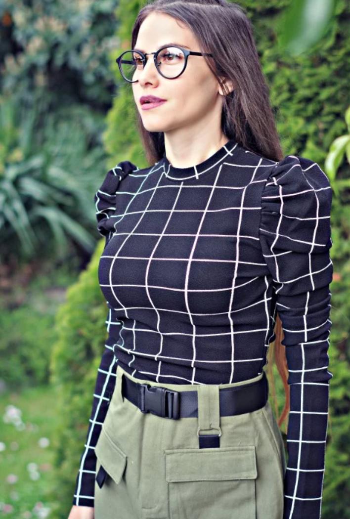 Блуза - Black & White