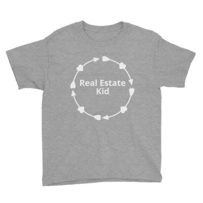 Real Estate Kid Youth Short Sleeve T-Shirt