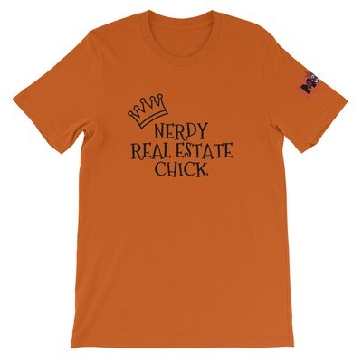Nerdy Real Estate Chick Short-Sleeve Unisex T-Shirt