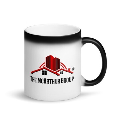 Logo Matte Black Magic Mug